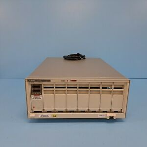 168-0301// AGILENT 66000A MPS MAINFRAME 66102A DC POWER MODULE [USED]