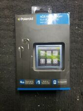Polaroid 4GB Music Mp3 Player W/ Video Photos PMP120-4 Built-In Sports Clip new