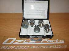 HOLDEN COMMODORE VL VN VP VR VS VT VX VY VZ WHEEL LOCK NUTS WITH KEY GM NEW
