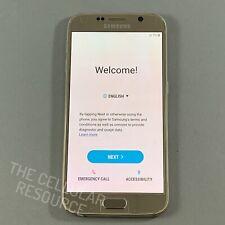 Great Samsung Galaxy S6 G920V 32GB Gold Verizon CDMA Smartphone Screen Burn*