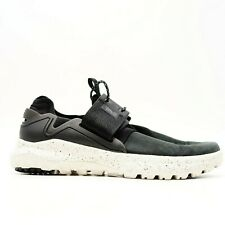 New Teva Mens Sz 9 Black Multi-Sport Hiking Suede Lace Athletic EVA Shoes