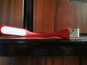 USB LED Light Stripe Leyendo Ligera Red Color 5V Lamp For Keyboard PC Laptop