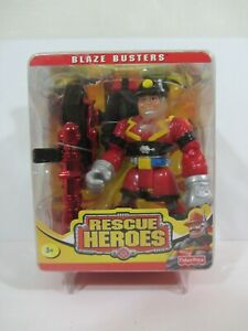 Fisher Price - Rescue Heroes Blaze Busters , Sam Sparks  NOC  (0721D)  77521
