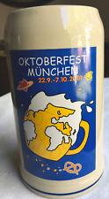 Oktoberfest Munchen 2001 Stefanie Wagner Germany Rastal Official Beer Mug Stein
