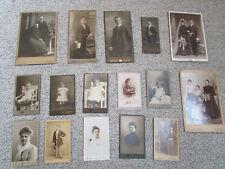 Alte Portrait-Fotos schwarz weiß / sepia