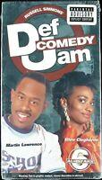 """MARTIN LAWRENCE / ARNEZ J. """"DEF COMEDY JAM  VOL. 6"""" 1999 VHS TAPE *SEALED*"""