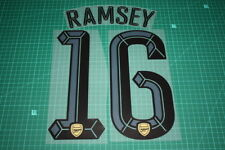 Arsenal 15/16 #16 RAMSEY UEFA Champions League AwayKit Nameset Printing