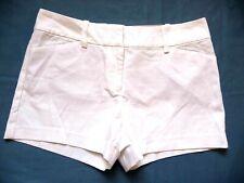 Ann Taylor Signature 10 P $49.99 NEW Shorts White Straight Through Hip & Thigh