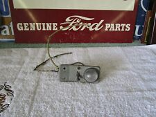 1955 1956 Ford Convertible Under Dash Map or Accessories Light, Bracket & Switch