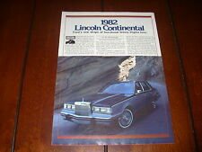 1982 Lincoln Continental *Original Article*