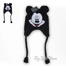 Lovely Mickey Mouse Winter Beanie Knit Hat Cap New
