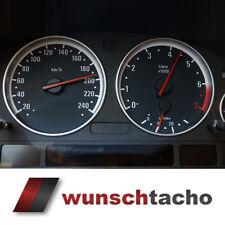 """Cadran de compteur de vitesse pour BMW e38-e39/E53/X5 """" ring. """" Essence"""