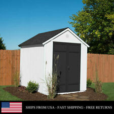 Outdoor Storage Garden Backyard Shed Durable Easy Assembly Wood Magnolia 6 x 8