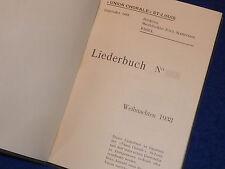 LIEDERBUCH weinachten 1938 chorale ST LOUIS paul SCHNYDER BASEL chants religieux
