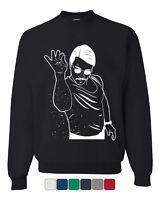 Salt Bae Funny Crew Neck Sweatshirt Viral Internet Meme Trend