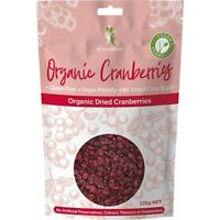 Dr Superfoods Dried Cranberries Organic 125g Muesli & Dried Fruits