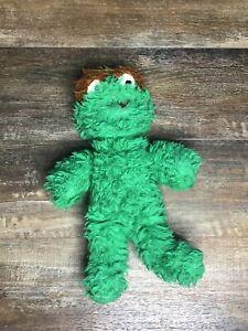 Vintage Oscar the Grouch Sesame Street Muppet Plush Toy Knickerbocker VTG 1976