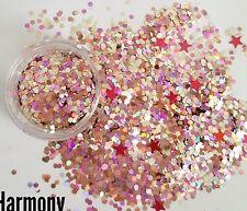 Nail glitter custom mixed HARMONY 5g bag custom mixed