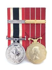 Corporal Long Service Medal Nato Otan Mounted Canada Pin Missing Back 92.4g H414