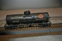 Vintage Metal Ethyl Gasoline HO Scale Train Gulf Oil Tank Car Single Dome Tanker