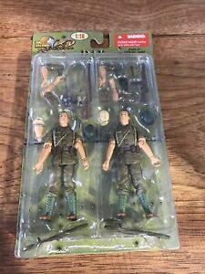 21st Century Toys Ultimate Soldier XD 1:18 WWII German DAK Infantry Twin Pack