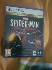 New listing Marvel Spider-Man Miles Morales PS5 Ultimate Edition. Code NOT used.
