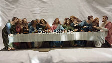 """Large The Last Supper """"29 Long Statue Figures Sculpture Ship Immediately!!!"""