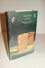A Void By Georges Perec UK 1st/1st 1994 Harvill Hardcover
