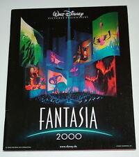 Walt Disney  FANTASIA 2000  original Presseheft  EA