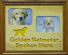 (Favorite Pet Or Breed) Spoken Here - Photo Mat & Frame