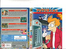 Futurama:Vol 1-1999/2013-TV Series USA-4 Episodes-DVD