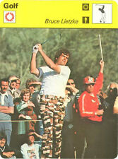 BRUCE LIETZKE 1979 Sportscaster #78-05 High#  GOLF