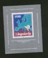 YUGOSLAVIA-MNH**  BLOCK-SECURITY ON BALKANS FOR SECURITY IN EUROPE-1988.