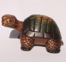 Handcarved Wooden Walking Turtle with Turned Head from Thailand 25cm Size