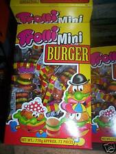 Trolli Mini Burgers box of 60  bought to order