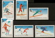 CHAD SG583/8 1979  WINTER OLYMPIC GAMES MNH