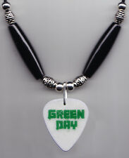 Green Day Glow Guitar Pick Necklace