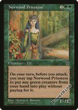1 Norwood Priestess - Green Portal Second Age Mtg Magic Rare 1x x1