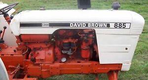For David Brown ENGINE OVERHAUL KIT 355011 2.7L (164.5 cid) 3 Cyl. Diesel 885