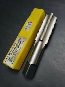 "Morse USA! 2 1/2""- 8 NS Plug Tap HSS R.H. Heavy Duty Hand Tap Machinist Tool"