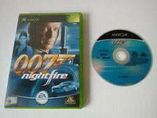 Xbox Original 007 Nightfire Game Tested