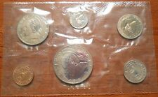 1971 Republic Of Liberia Proof Set 6 Pieces Coin