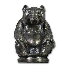 10 oz Silver Antique Statue - Coins of the World (Silver Panda) - SKU #104532