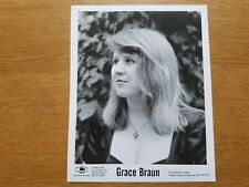 GRACE BRAUN 8x10 BLACK & WHITE Press Photo Promotional DQE Dairy Queen Empire