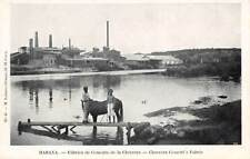 HAVANA, CUBA ~ CEMENT FACTORY AT CHORRERA, LAZARO PUB #48 ~ c. 1902