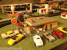 MINT Life Like Freezee Queen Building for T Jet Slot Car Race Train Track Sets