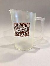 FALSTAFF Beer Pitcher, PLASTIC beer pitcher, vintage pitcher, vintage barware
