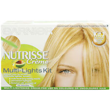 GARNIER Nutrisse CREME multi-lights KIT 1-COLORATO O Naturale Biondo Capelli