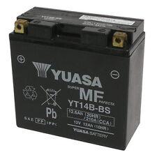 Batteria Yuasa ORIGINALE YT14B-BS Yamaha FZS Fazer 1000 2002