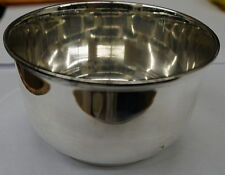 """TIFFANY & CO ENGLAND STERLING RC BOWL 4.5"""" WIDE 2.5"""" TALL 220.1 GRAMS"""